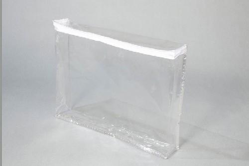 Embalagem plástica com zíper