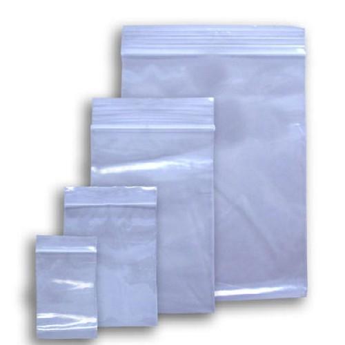saco plástico com fechamento zip