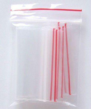 saco plástico zip lock