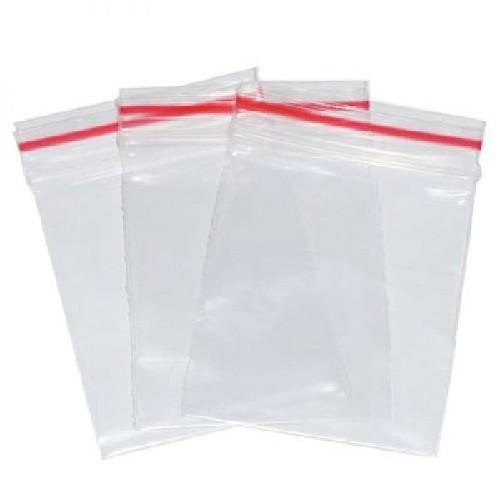 saquinhos plásticos com fecho ziplock